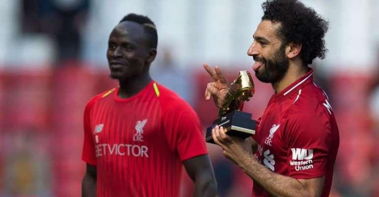 African History As Trio Mane, Salah And Aubameyang Share EPL Golden Boot Award