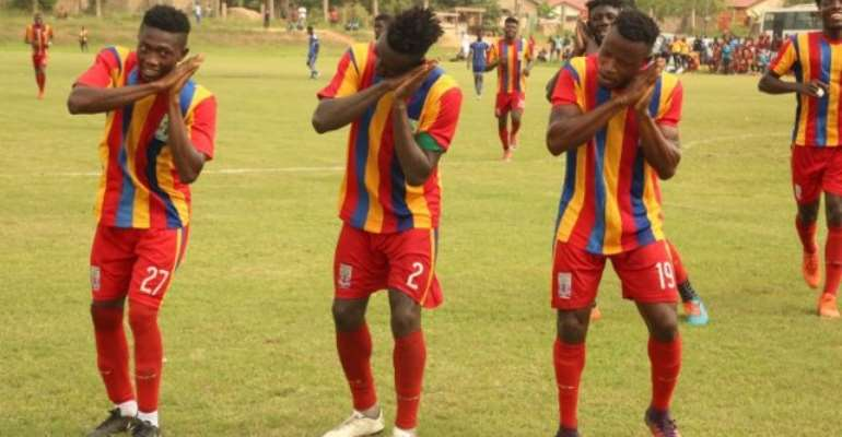 Special Competition: Kotoko Beaten By Ashgold In Ashanti Derby, Hearts Win