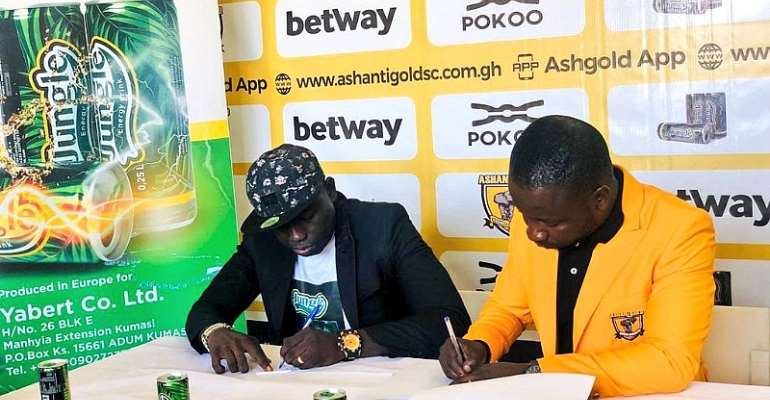 Ashgold Secures 1-Year Sponsorship Deal With Jungle Energy Drink
