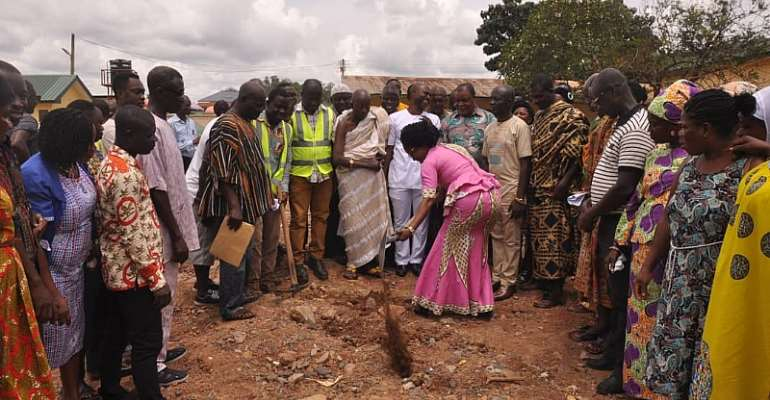 Obuasi East District Gets Its Fair Share Of Massive Infrastructural Development