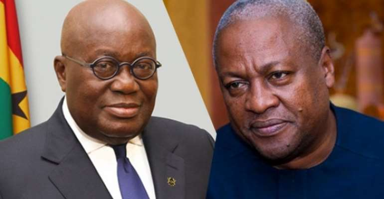 Akufo-Addo edges Mahama on the infrastructural debate: Why the Green Book was a hoax!