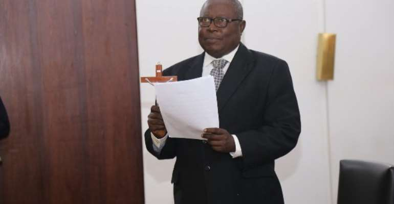 Martin Alamisi Burnes Kaiser Amidu was the Attorney-General and Minister for Justice from January 2011 till January 2012
