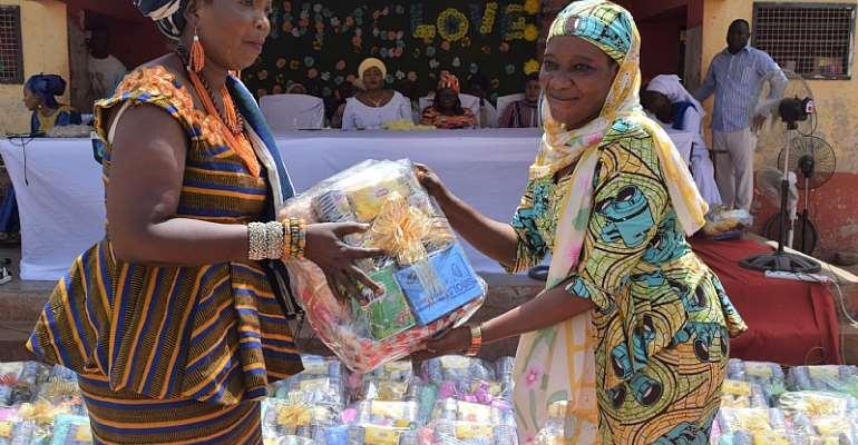 Deputy MASLOC Boss Abibata Celebrates Mother's Day With Yendi Women