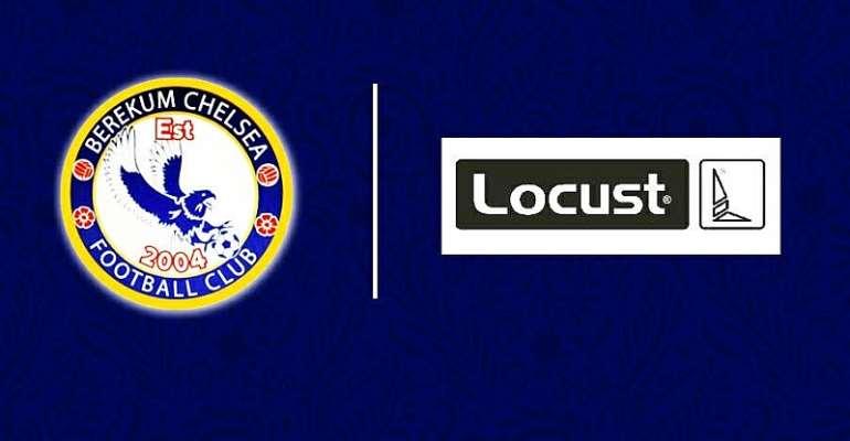 Berekum Chelsea Secures 4-Year Kit Sponsorship Deal With Locust