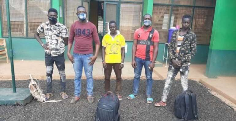 U/W: Five Burkinabes Arrested, Repatriated For Sneaking Into Ghana