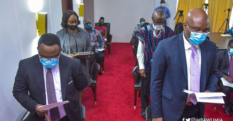 Task-Force For The Establishment Of Ghana's Early Warning Centre Inaugurated