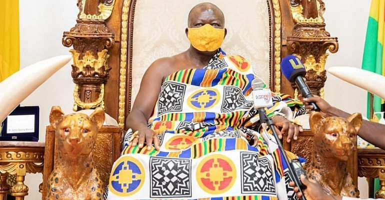 Galamsey fight: We can't deceive ourselves with conferences – Otumfuo