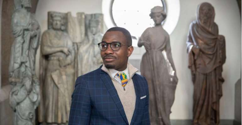 After Graduation, MacLean Sarbah Hopes To Help Solve One Of Ghana's Biggest Social Problems — Youth Unemployment