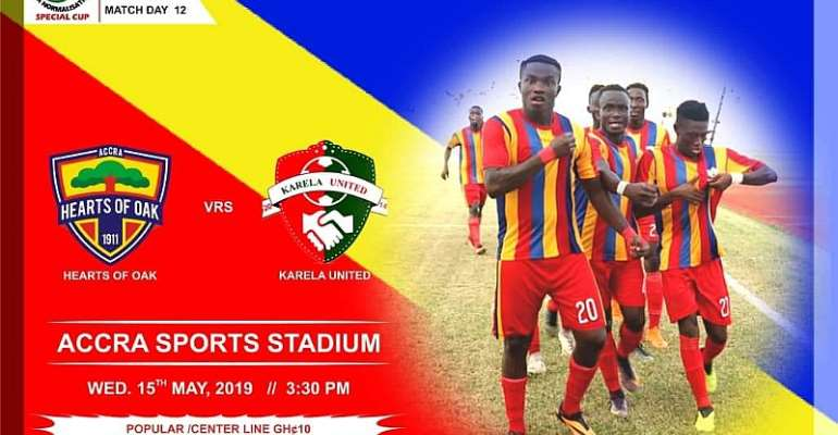 Karela PRO Insists There Is No Pressure On Team Ahead Of Hearts Clash