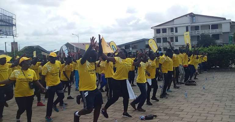 Hundreds Join MTN Health Walk