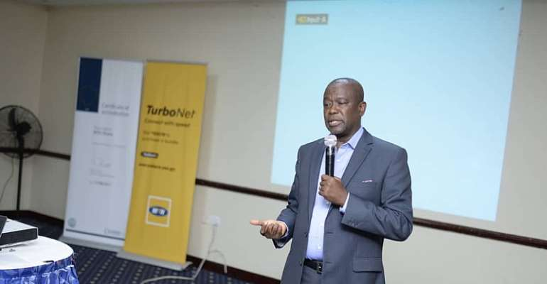 Mr. Sam Koranteng, Corporate Service Executive of MTN