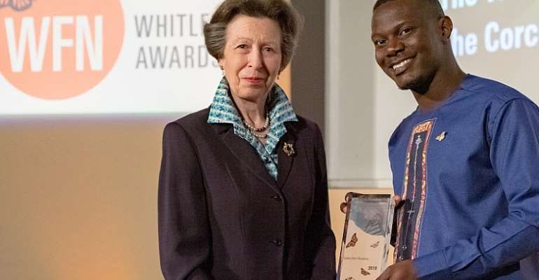 Herp Conservation Ghana Wins Whitley Awards