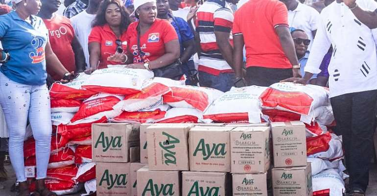 NPP Loyal Ladies Fete Fishermen's Wives
