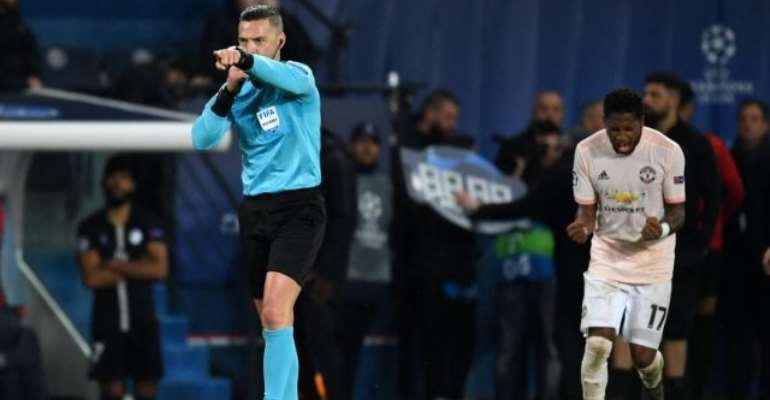 Ref Who Awarded United's VAR Penalty Picked For Champions League Final