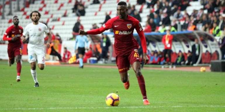Besiktas In Talks With Atletico Madrid Over Ghana's Bernard Mensah