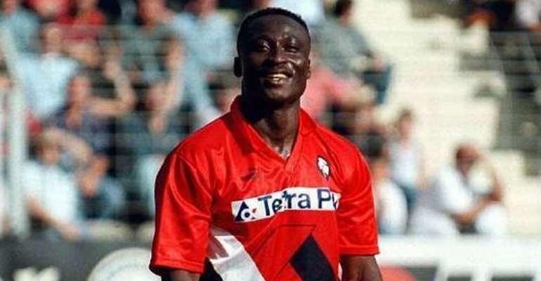 Tony Yeboah & Other African Players Who Won The Golden Boot In The Top Five European League