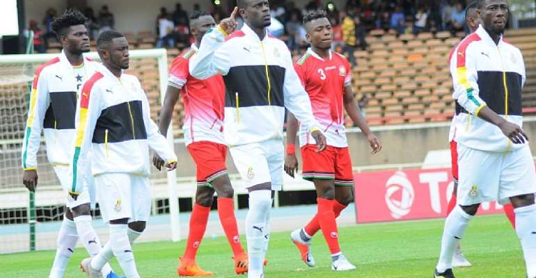 #ThrowBackThursday: Watch Edwin Gyasi's Scintillating Display In Black Stars, Iceland Friendly[VIDEO]