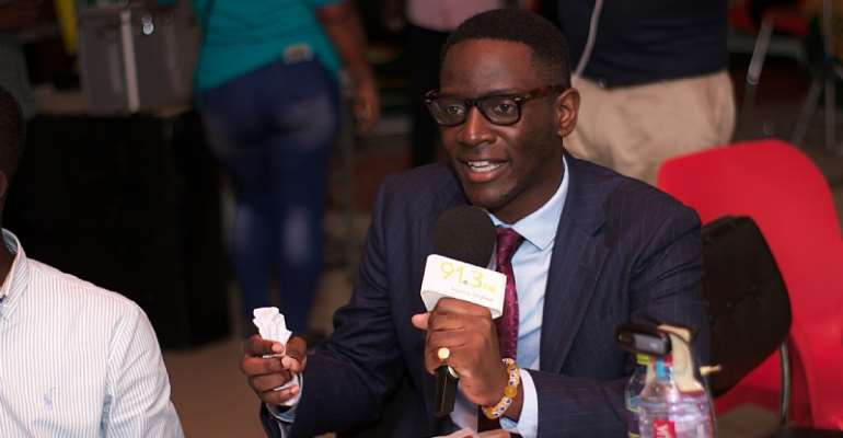 Vincent Djokoto, Business Executive and Columnist.