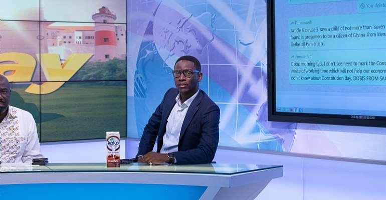 Business Executive & Columnist, Vincent Djokoto