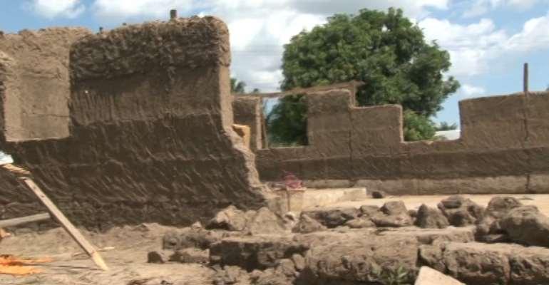 V/R: Church collapses, kills 12-year-old boy at Mafi-Kumase