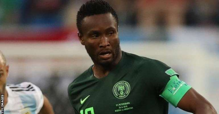 AFCON 2019: Mikel Named In Nigeria's Provisional Squad