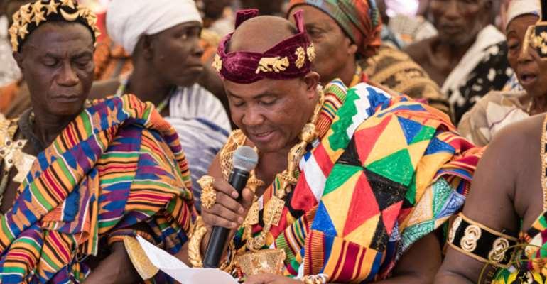 Nana Abram Akpanja VI, Paramount Chief of Jasikan