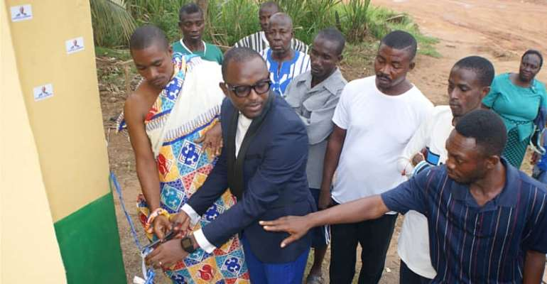 Philanthropist Promise ToIndustrialiseMfantseman Constituency