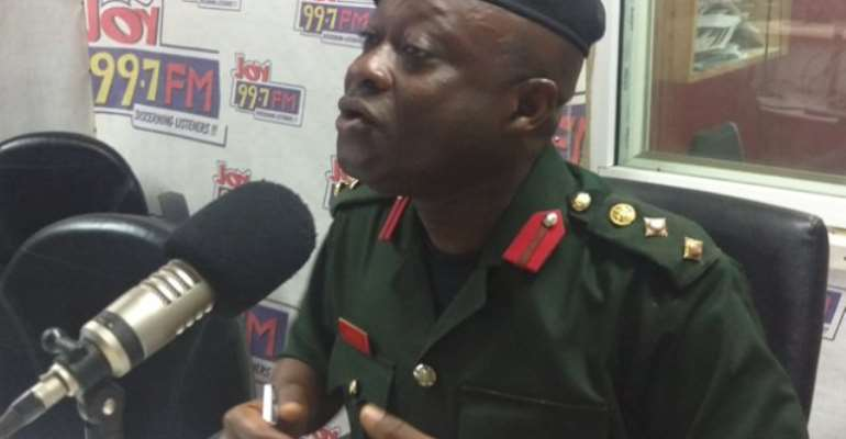 Brigadier General Emmanuel Kotia is a security expert