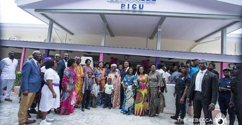 Rebecca Akufo-Addo Commissions New Intensive Care Unit At Korle Bu