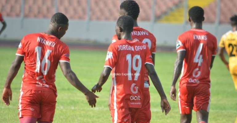 Special Competition: Hearts Pips  Karela To Book Semifinal Berth As Kotoko End Winless Run