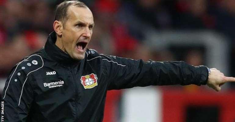 Heiko Herrlich was previously Bayer Leverkusen head coach