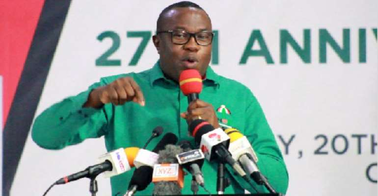 We Shall Employ All Legal Means To Stop EC, NIA Evil Conspiracy To Rig The 2020 Elections For NPP ―NDC