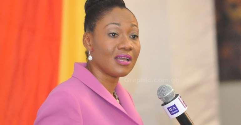 Electoral Commissioner, Jean Adukwei Mensa