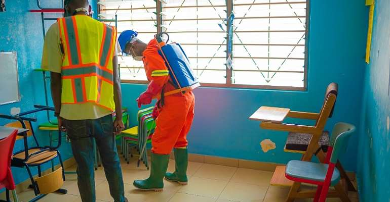 Dansworld Undertakes Disinfection, Fumigation Of Churches And Schools