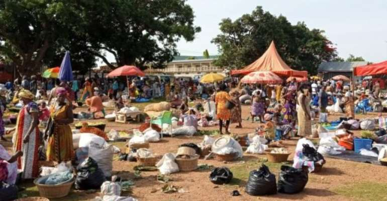 Dormaa Central Assembly Relocates Traders Over Social Distancing Issues