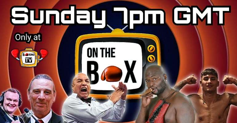On The Box Season 6 Finale! Featuring James Toney, Joe Cortez, Gianluca Di Caro & Michael Fafera
