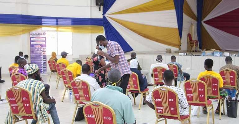 Upper East: GHS, others train health workers onMosquito Larval Source Management