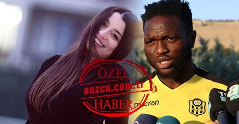 Ghanaian Footballer Accused Of Impregnating Night Club Worker In Turkey