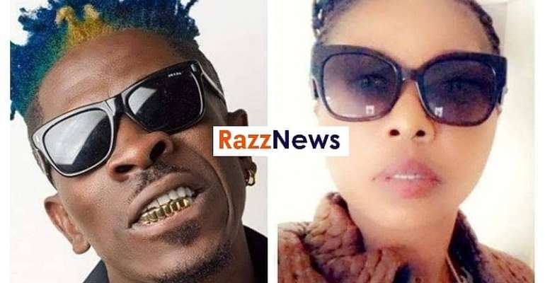 Trouble looms as Shatta Wale's first baby Mama Flies to Ghana to Expose him