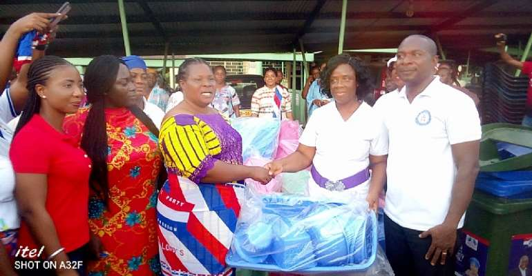 NPP Women's Wing celebrate Mother's Day with new mothers in Volta and Oti
