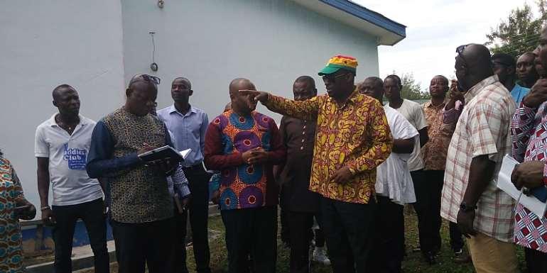 Minister Pledges To Establish Coconut Refinery In Jomoro