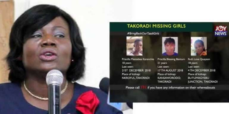 COP Tiwaa Addo-Danquah has come under fire for comments on the missing girls
