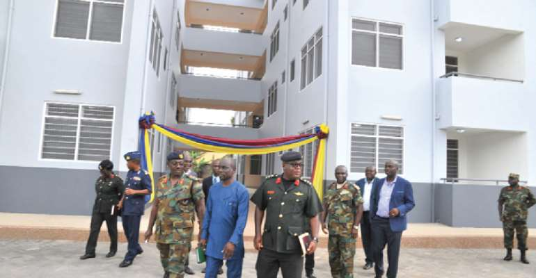 Govt Prioritises Accommodation For Armed Forces Personnel – Major Derrick Oduro