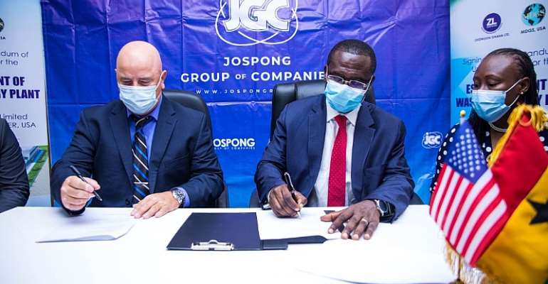 Ghana to get Waste to Energy Plant as Jospong partnerMDGS/MD Power