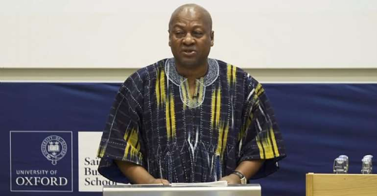 Democracy Is Improving Citizen's Live, Not Elections—Mahama