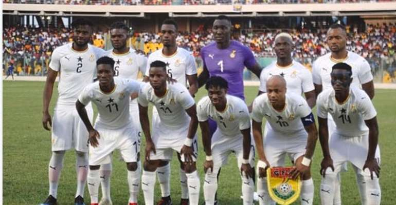Black Stars To Play Namibia, South Africa In AFCON Warmup Game