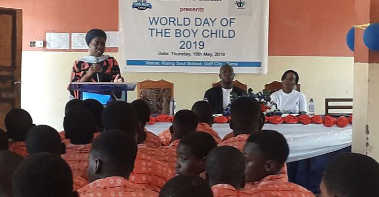 NGO Holds Inaugural Observance Of World Day Of The Boy Child