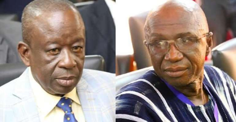 Albert Kan Dapaah and Ambrose Dery, Ministers for National Security and the Interior
