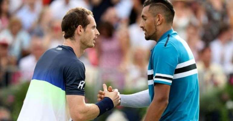 Kyrgios tells Murray: 'You're Better Than Djokovic'