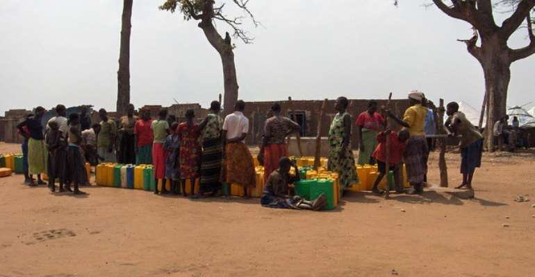 Women spend considerable time finding water for their homes - Source: